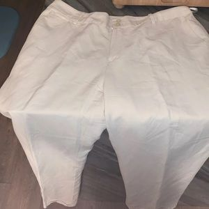 Ralph Lauren 14W white pants